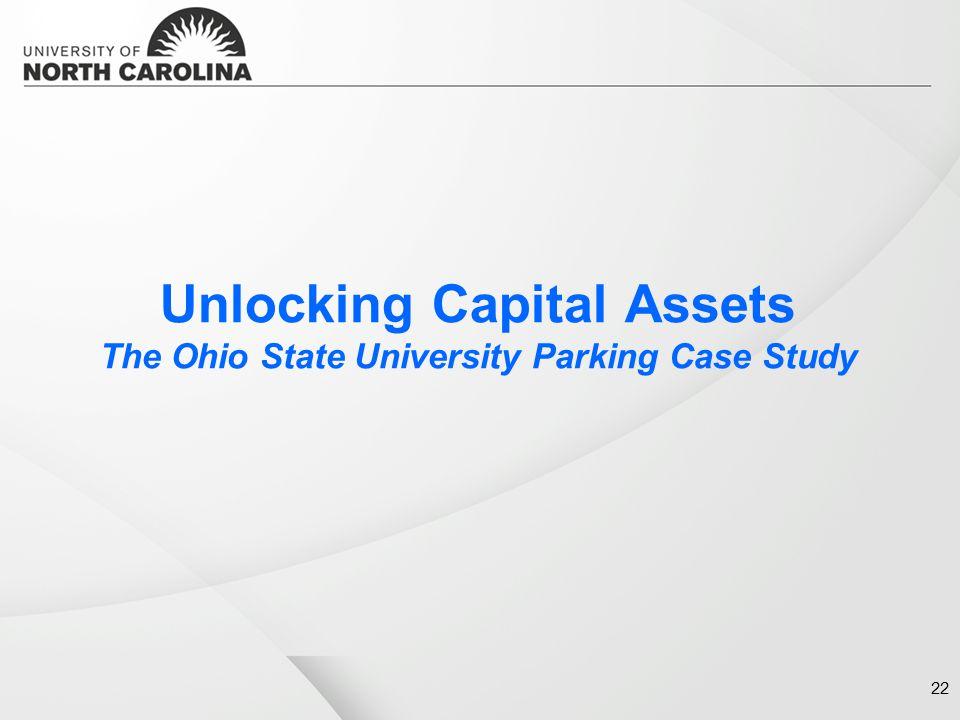 Unlocking Capital Assets The Ohio State University Parking Case Study 22