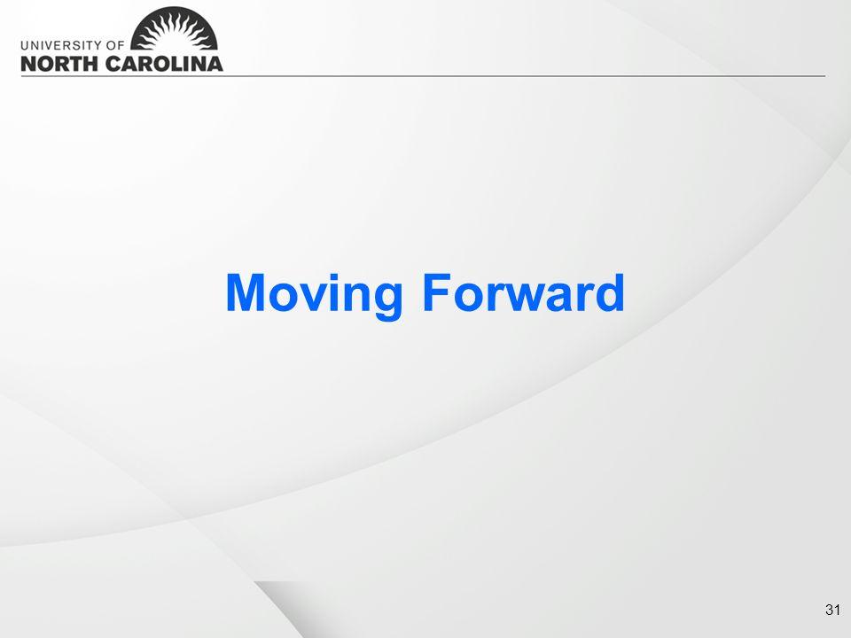 Moving Forward 31