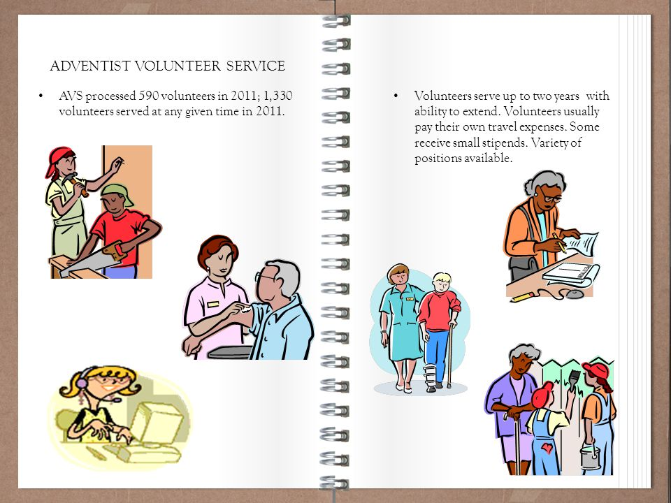 Working Policy 101 Volunteers serve up to two years with ability to extend. Volunteers usually pay their own travel expenses. Some receive small stipe