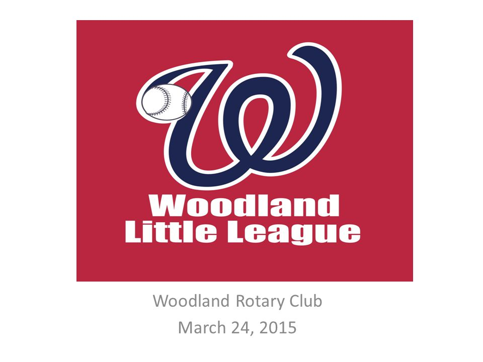 Little League celebrated their 75 th anniversary in 2014 2.4 million children participate annually 1.5 million adult volunteers First game played in 1939 in Williamsport, Penn.