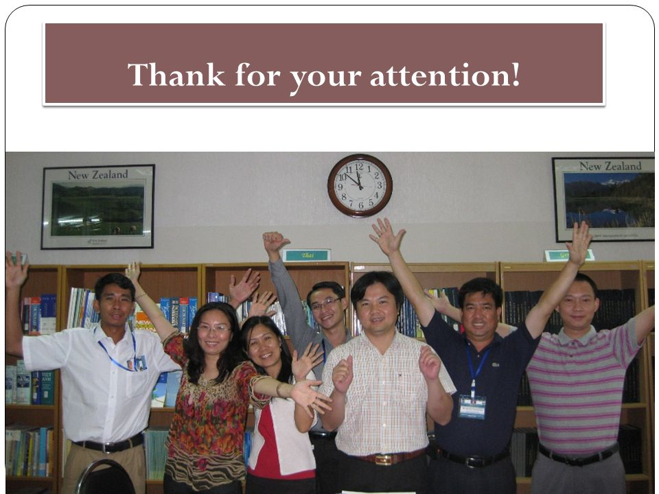 Thank for your attention! 11