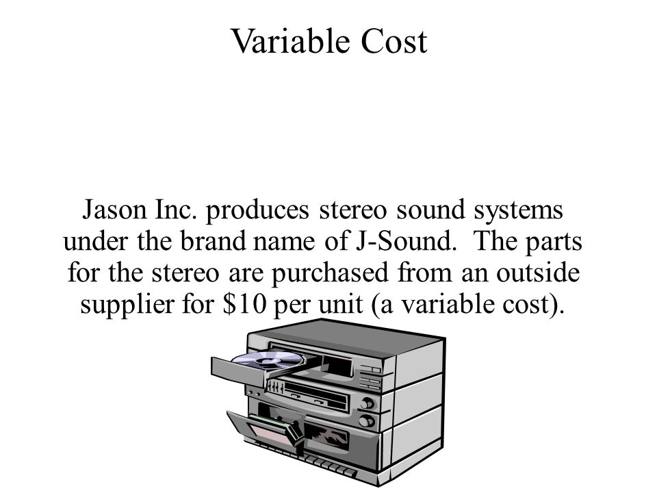 Jason Inc. produces stereo sound systems under the brand name of J-Sound.