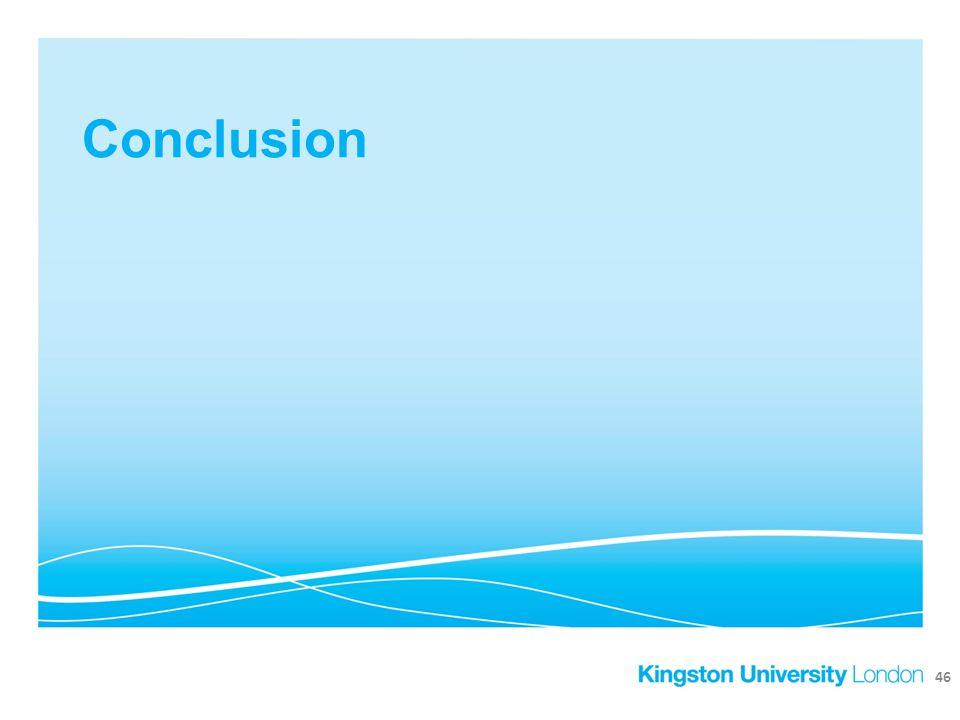 Conclusion 46
