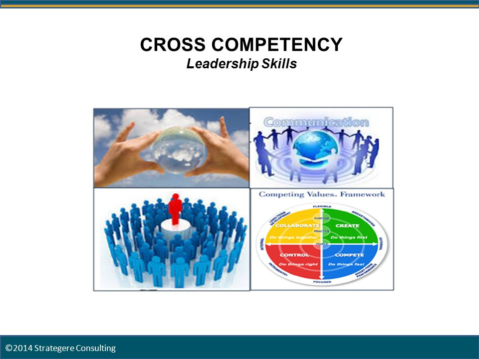 18 CROSS COMPETENCY Leadership Skills ©2014 Strategere Consulting