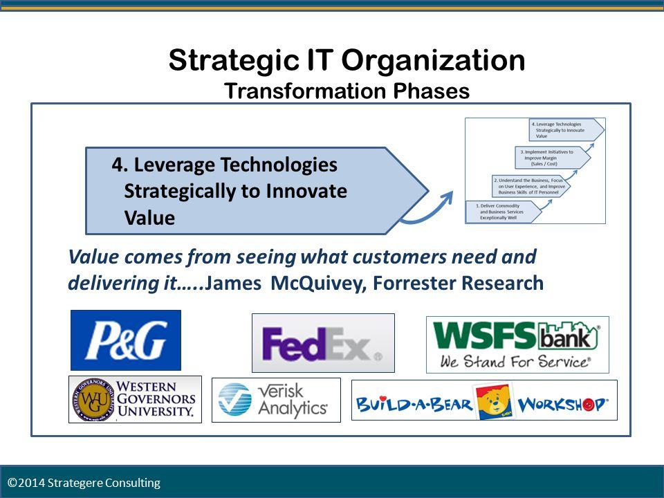 27 Strategic IT Organization Transformation Phases 4.