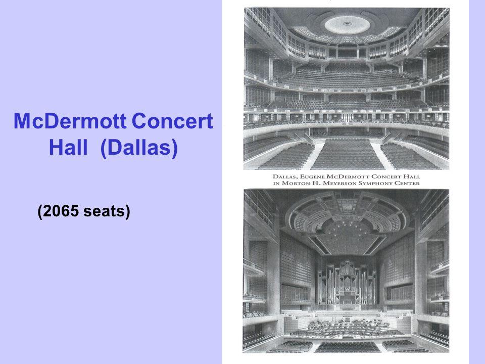 McDermott Concert Hall (Dallas) (2065 seats)