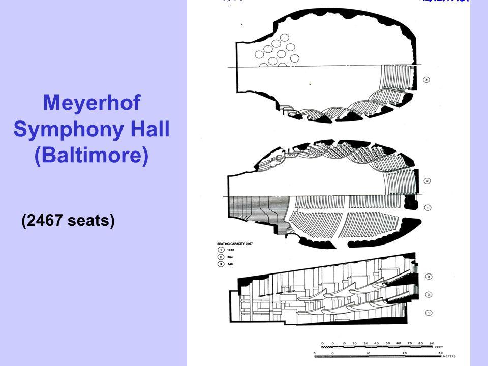 Meyerhof Symphony Hall (Baltimore) (2467 seats)