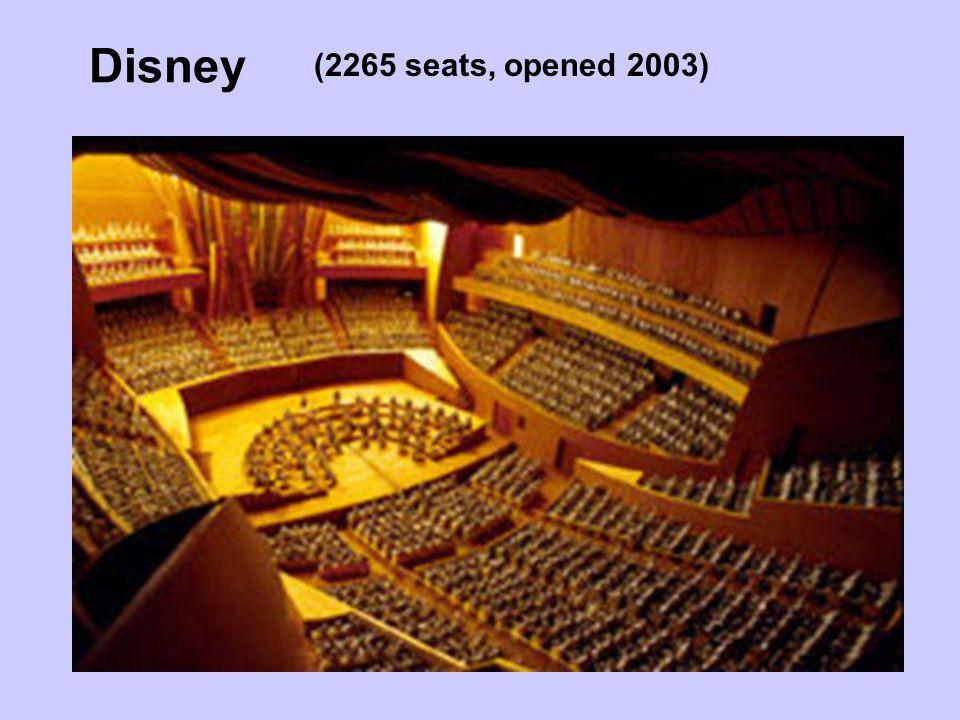 Disney (2265 seats, opened 2003)