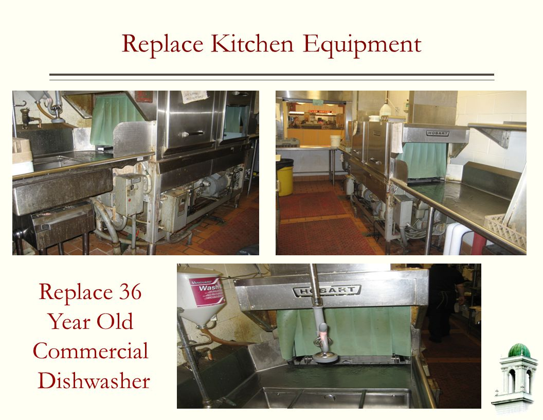 Replace Kitchen Equipment Replace 36 Year Old Commercial Dishwasher