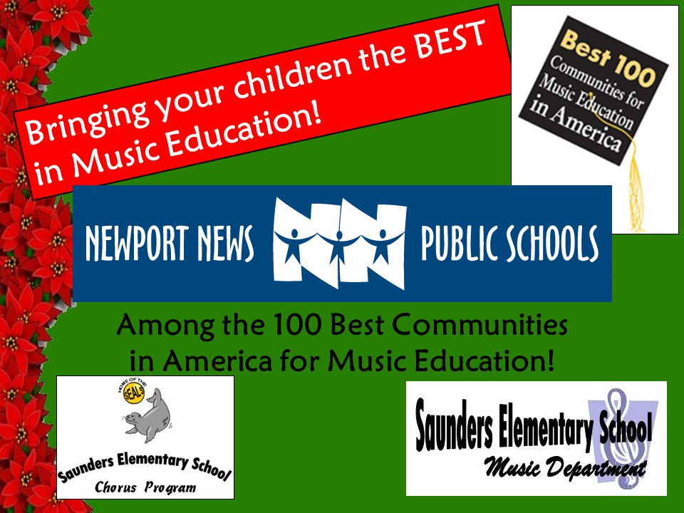 Bringing your children the BEST in Music Education.