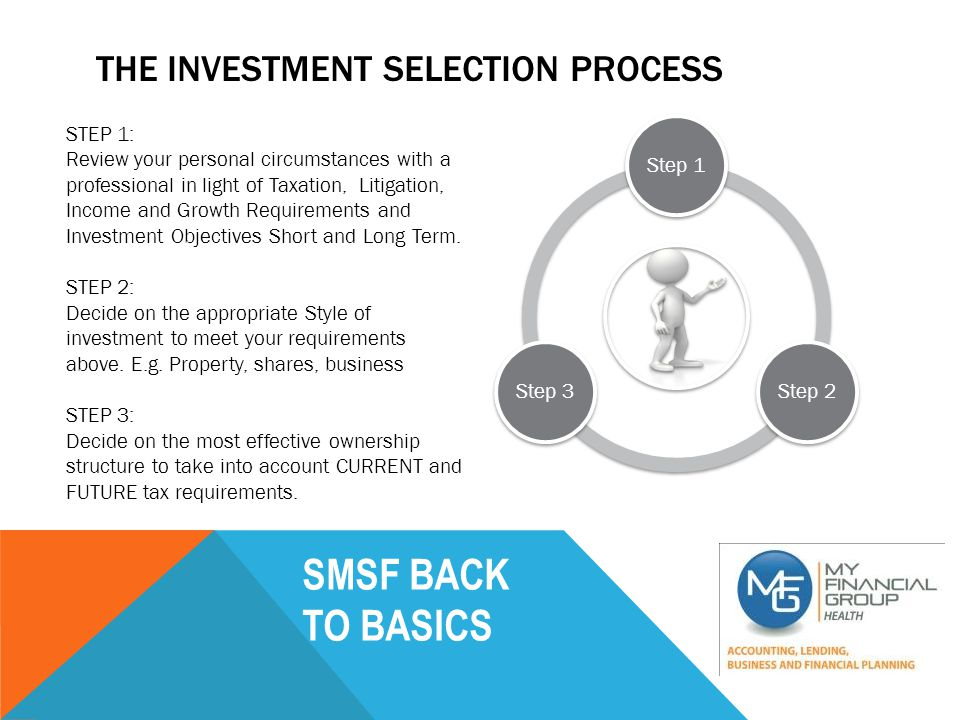 SMSF BACK TO BASICS DAN + JUDY'S SUPERANNUATION CASE STUDY SUPERANNUATION Current Super $200,000 + Cash boost of $50,000 (Combined Contribution) = $242,000 after 15% Tax 10% dep = $100,000 Stamp Duty + Costs =$48,000 LOAN = $900,000 $94,500 CASH IN SUPER +