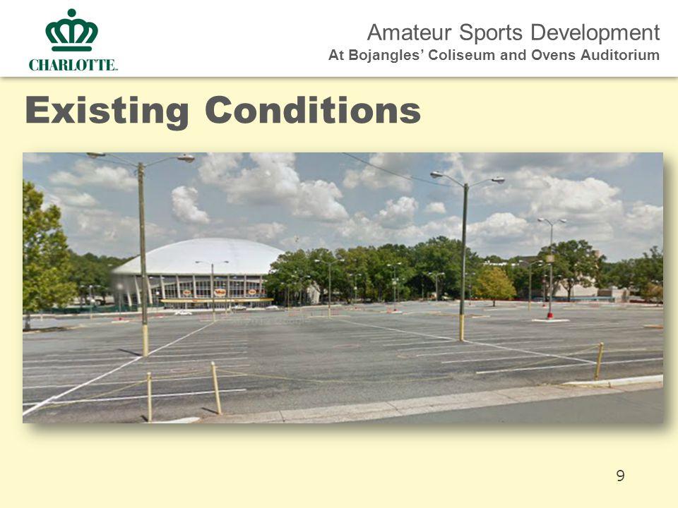 Amateur Sports Development At Bojangles' Coliseum and Ovens Auditorium Existing Conditions 9