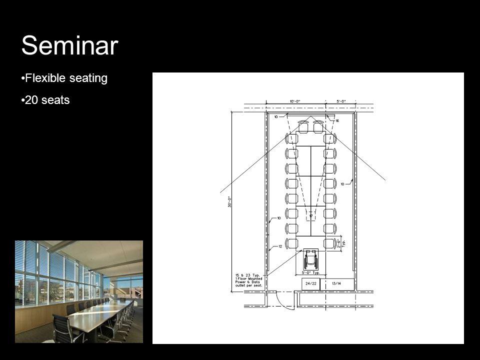Seminar Flexible seating 20 seats