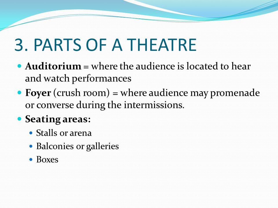 Boxes Auditorium