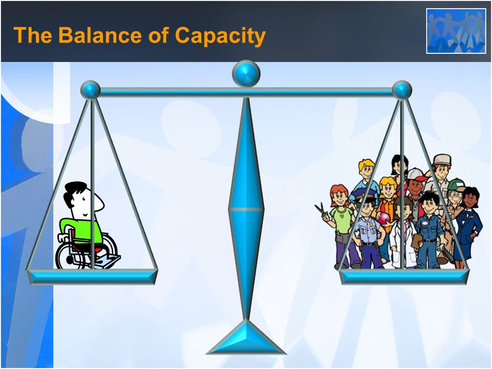 The Balance of Capacity