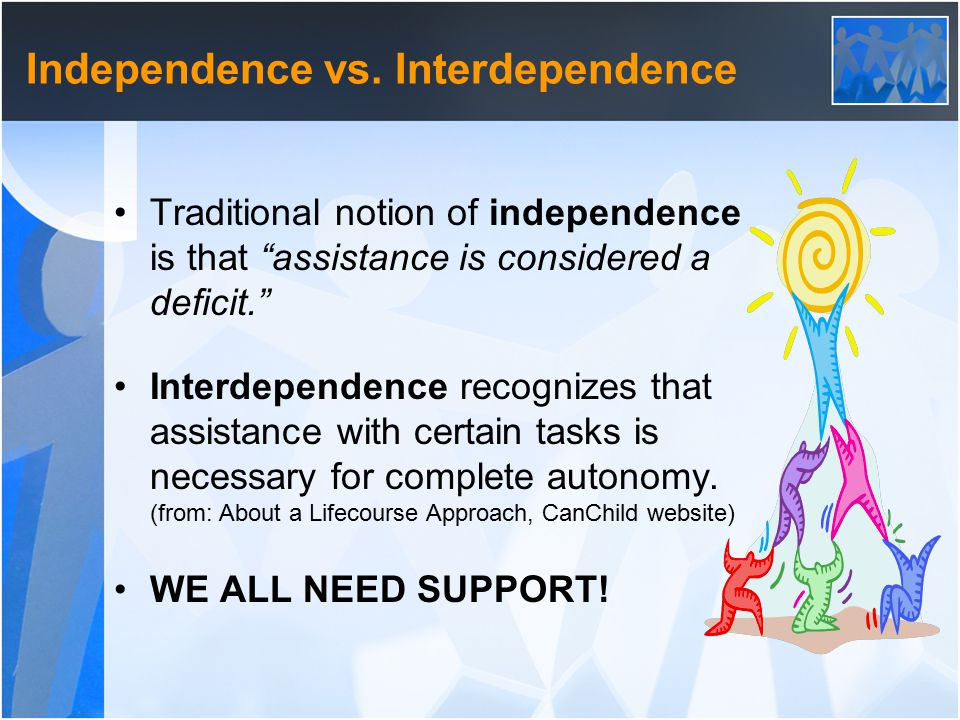 Independence vs.