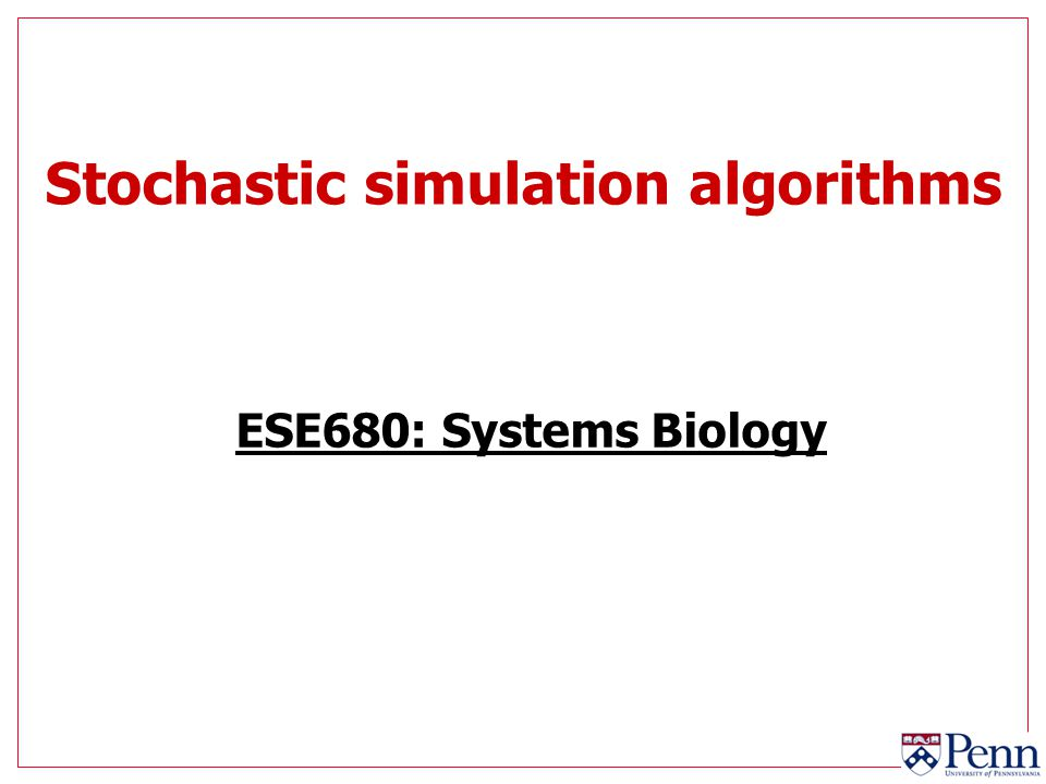 12 Stochastic simulation with Gaussian rv