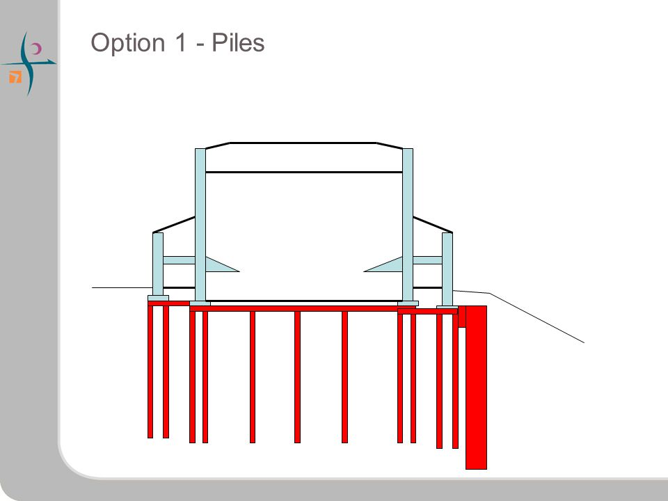 Option 1 - Piles