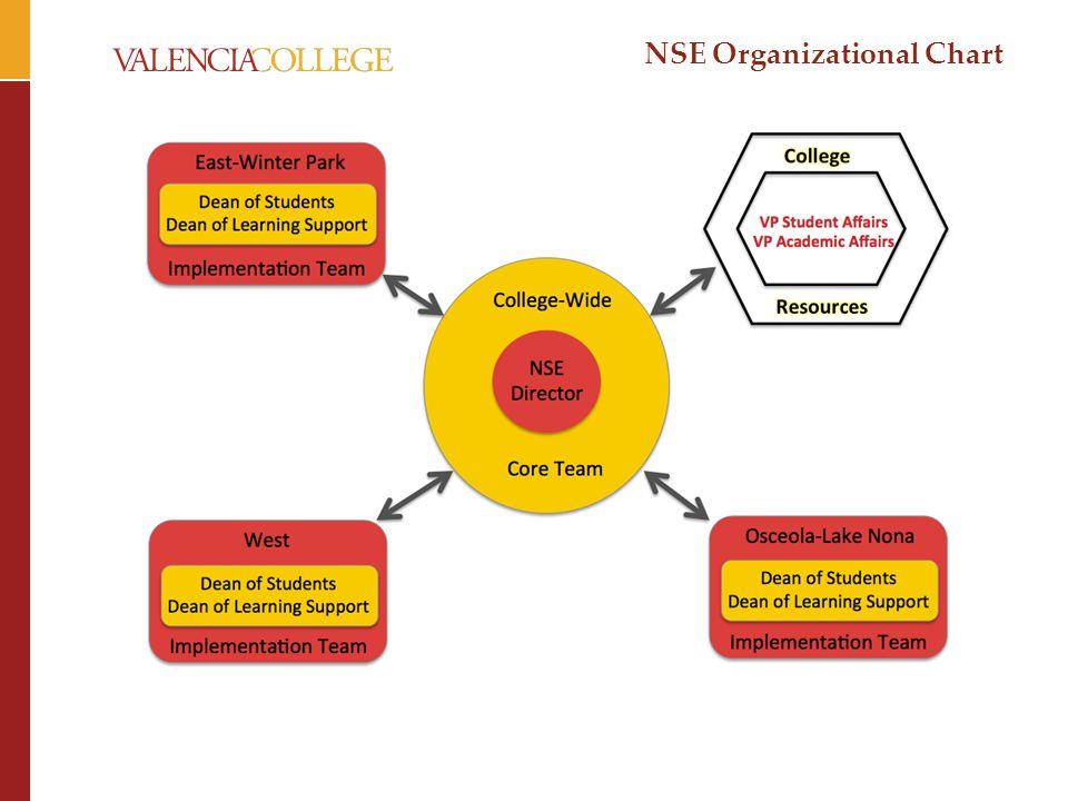 NSE Organizational Chart