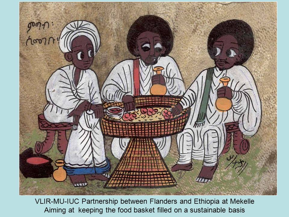 VLIR-MU-IUC Partnership between Flanders and Ethiopia at Mekelle Aiming at keeping the food basket filled on a sustainable basis