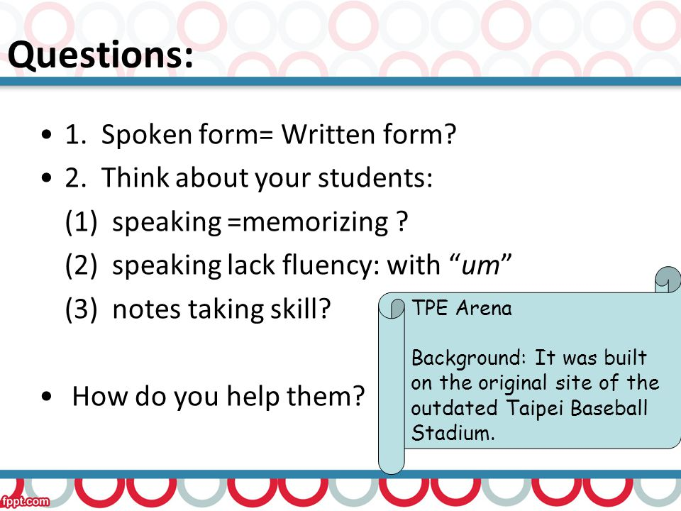 Contents of presentation: Introducing the textbook Two languages: language IN the task vs.