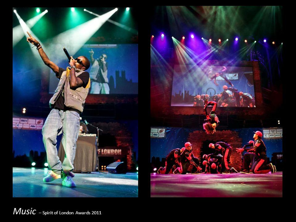 Music – Spirit of London Awards 2011