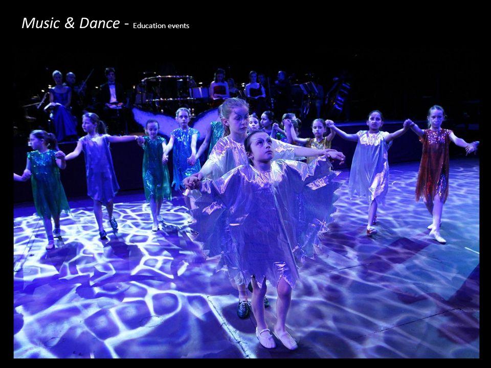 Music & Dance - Education events