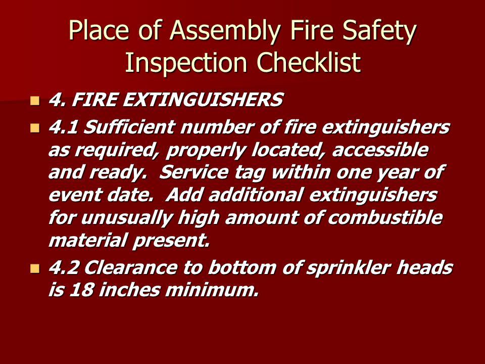 4. FIRE EXTINGUISHERS 4.