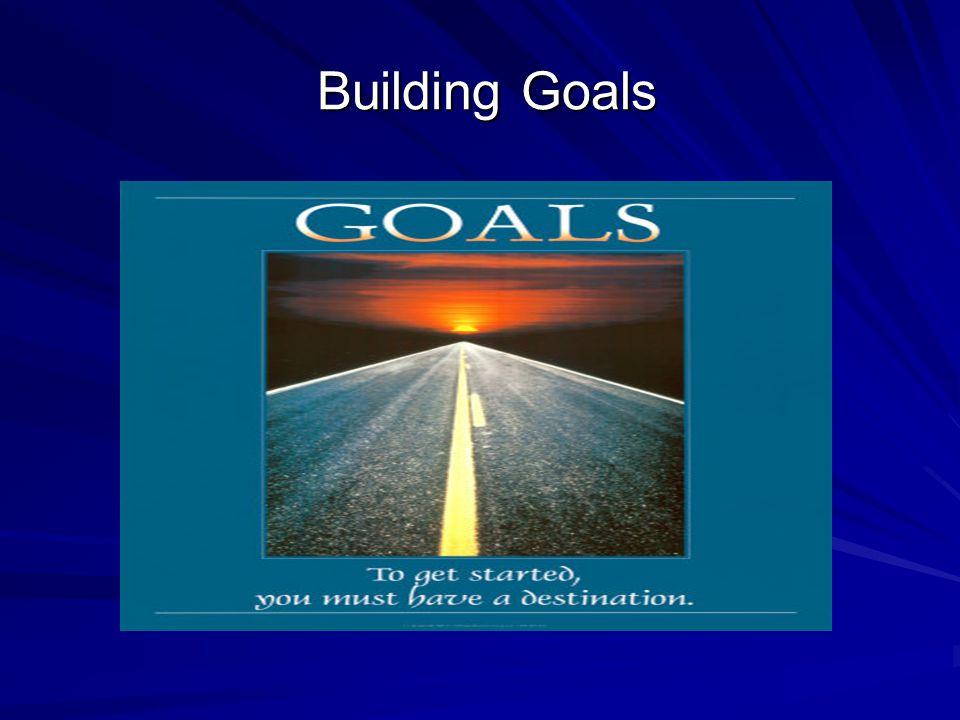 Building Goals Building Goals
