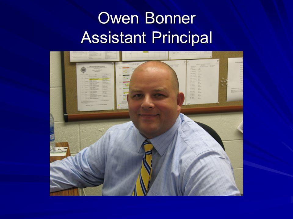 Owen Bonner Assistant Principal