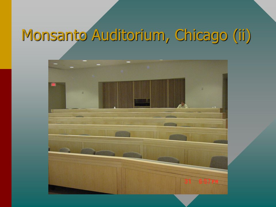 Monsanto Auditorium, Chicago (i)