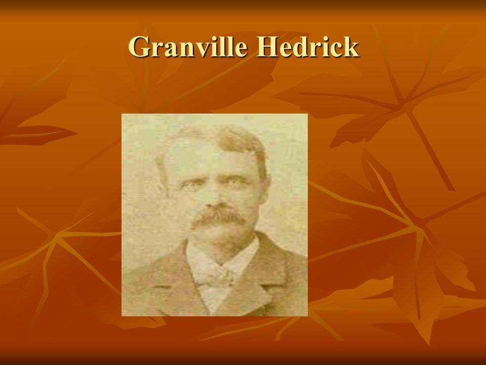 Granville Hedrick