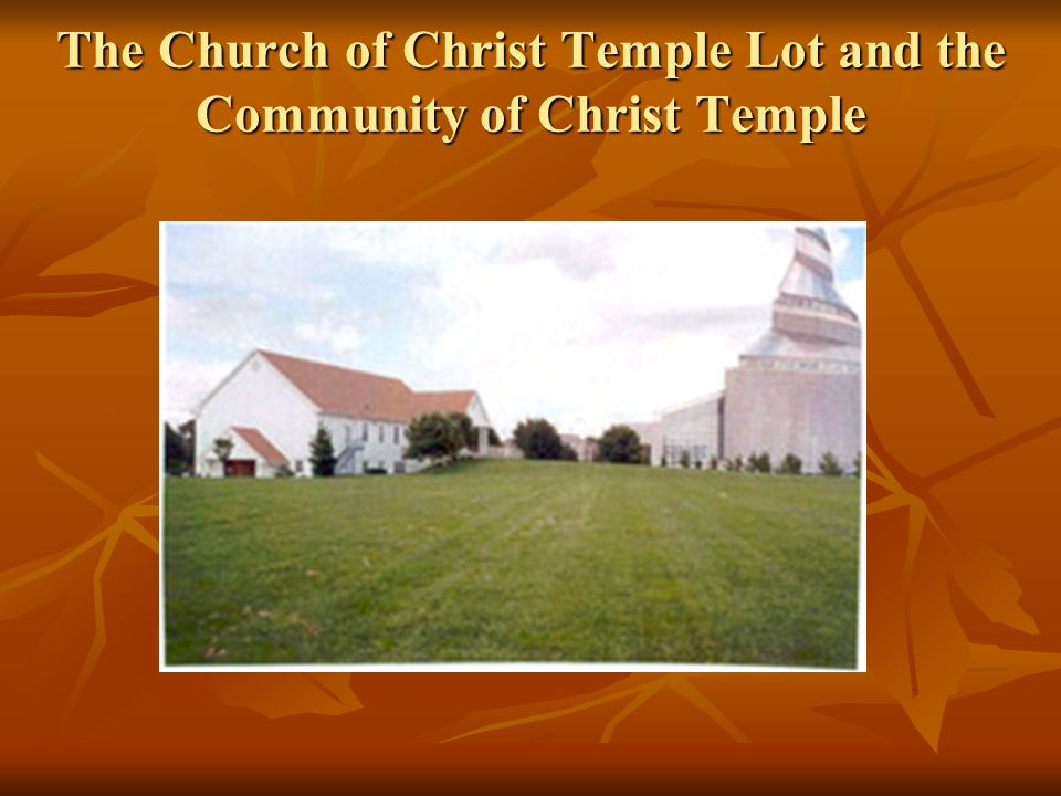 The Temple in Independence The temple that will be established there will be the key temple. Alvin R.