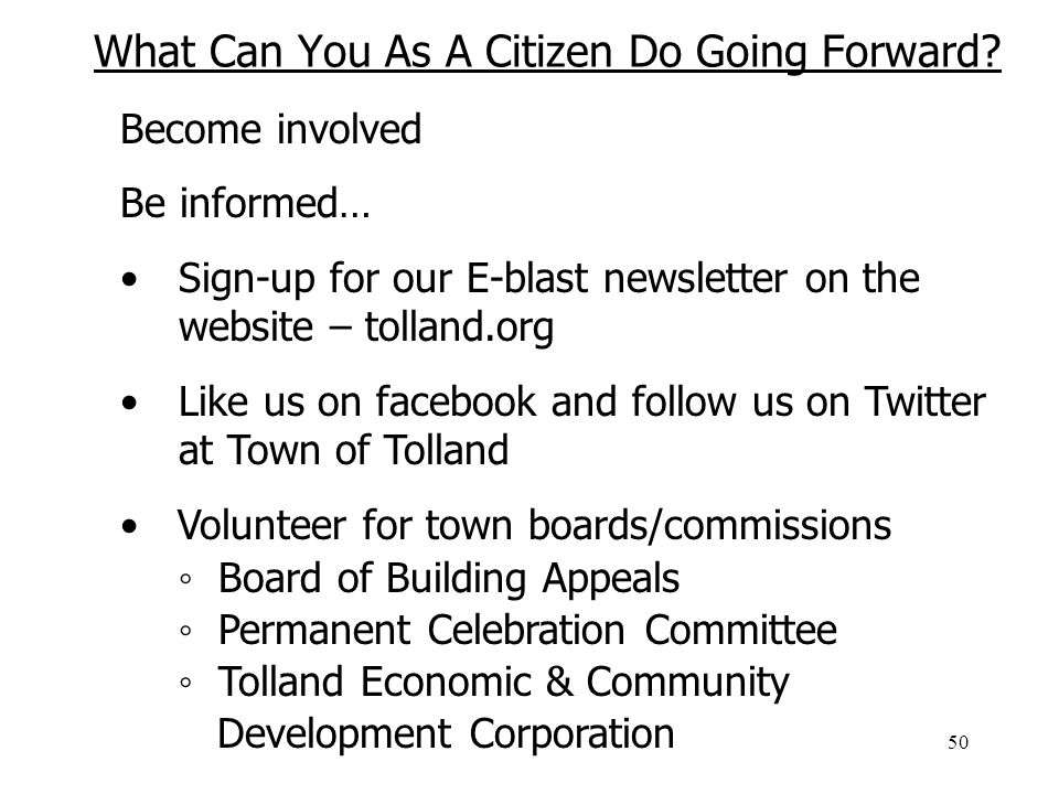 50 What Can You As A Citizen Do Going Forward.