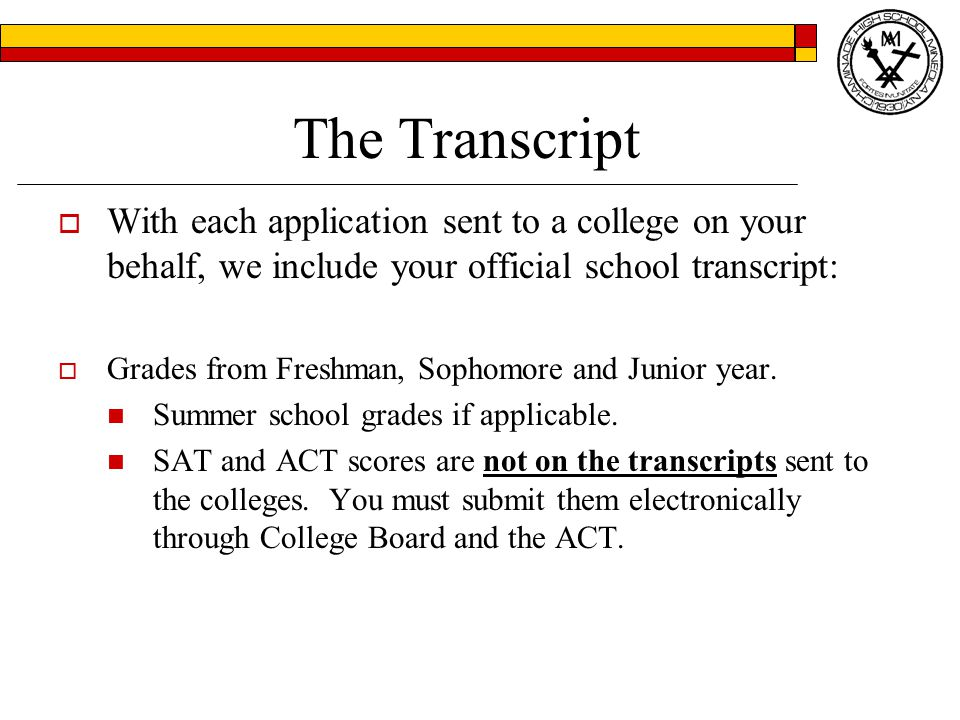 College Placement Office: The Essay  The part of the application you control.