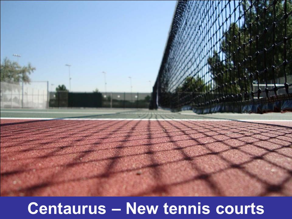 Centaurus – New tennis courts
