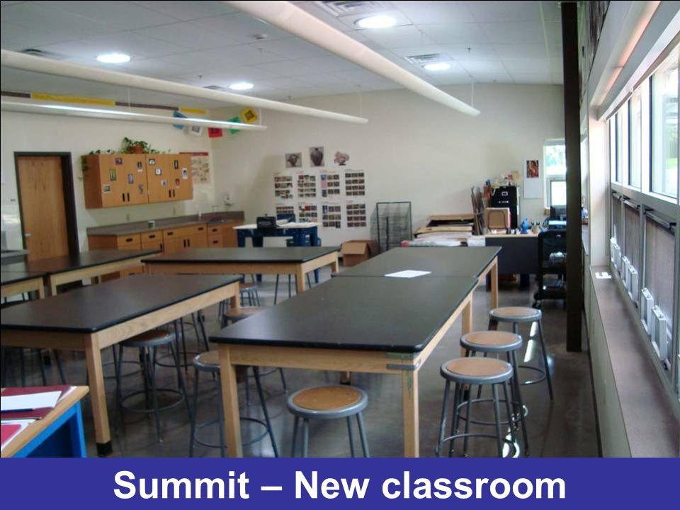 Summit – New classroom