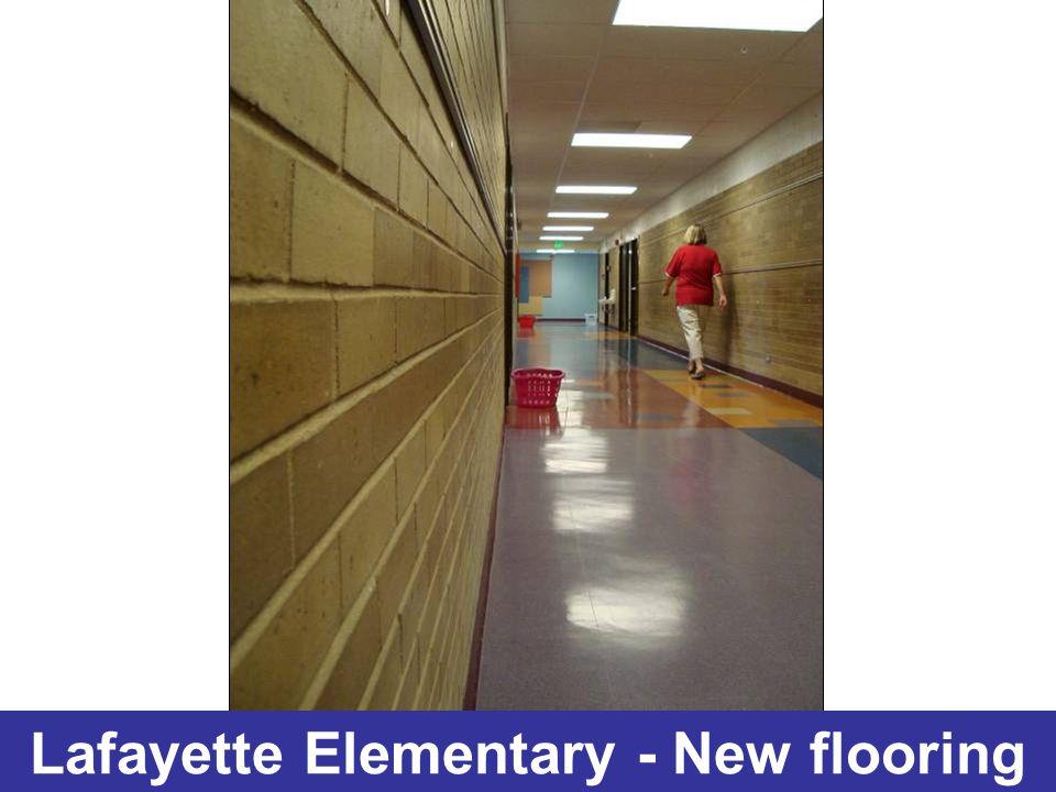 Lafayette Elementary - Second grade wing