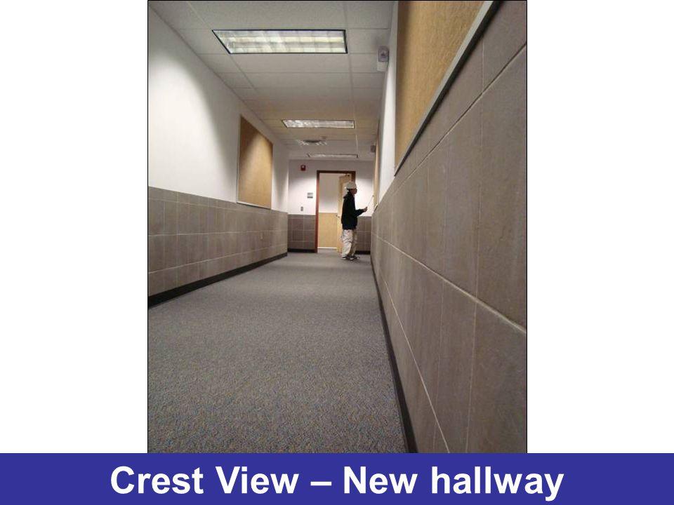 Crest View – New hallway