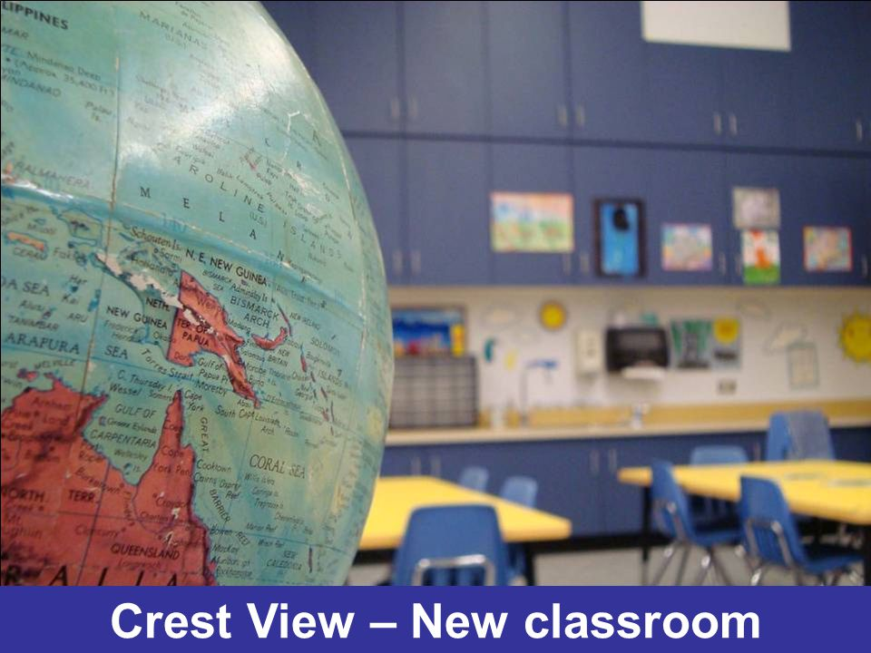 Crest View – New classroom
