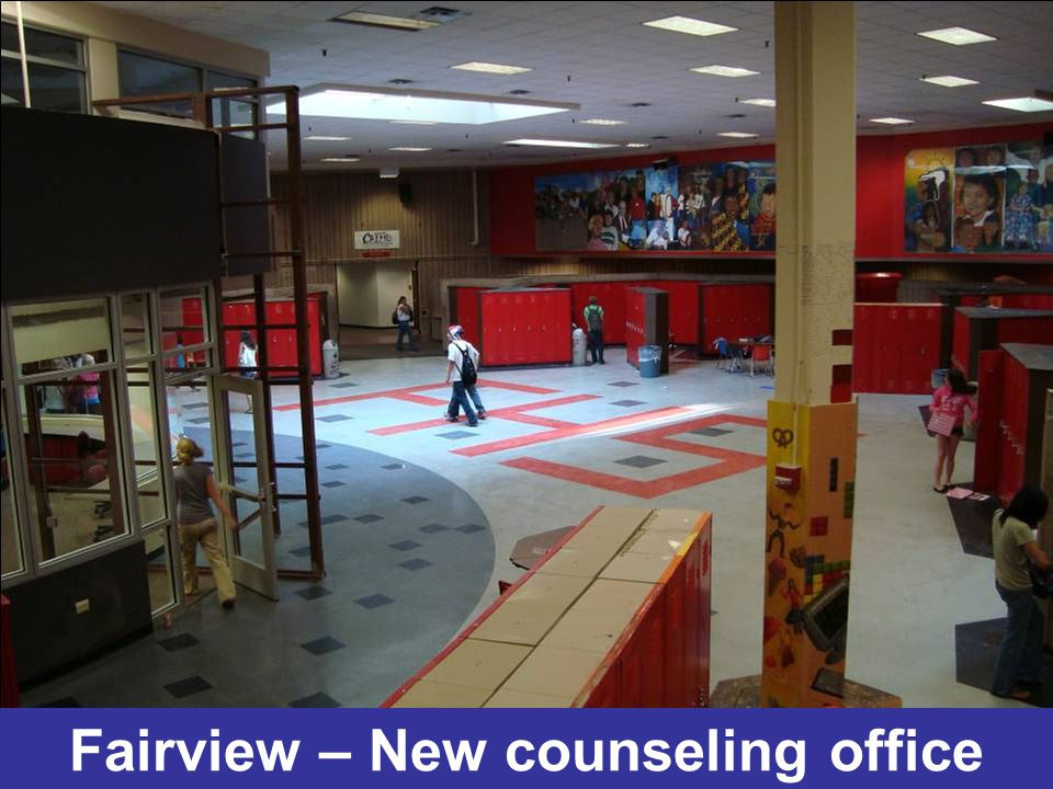 Fairview – New counseling office