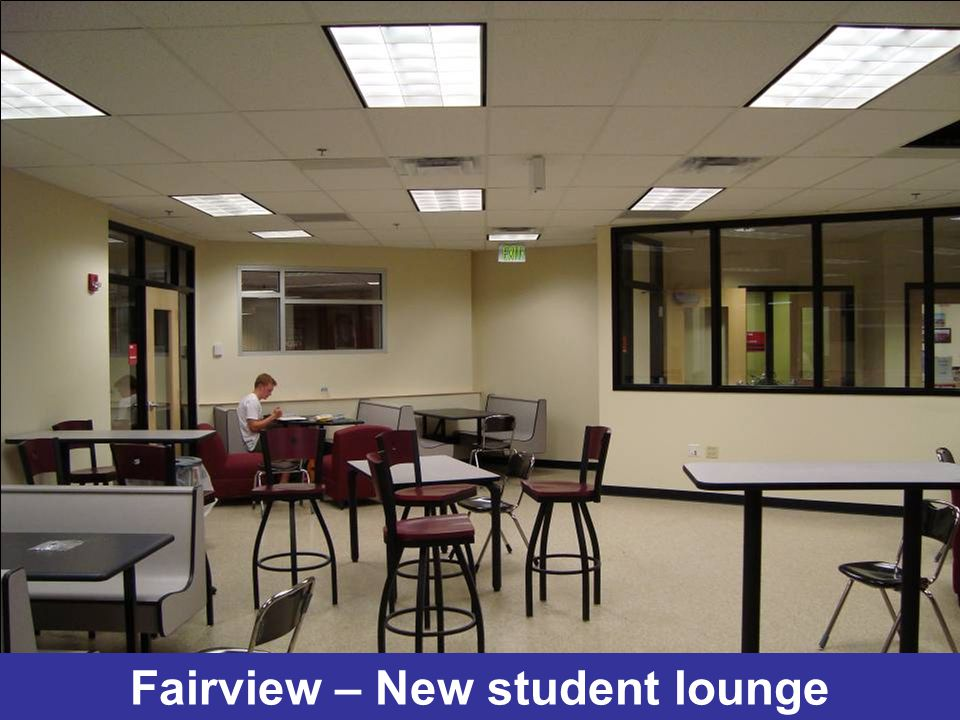 Fairview – New student lounge