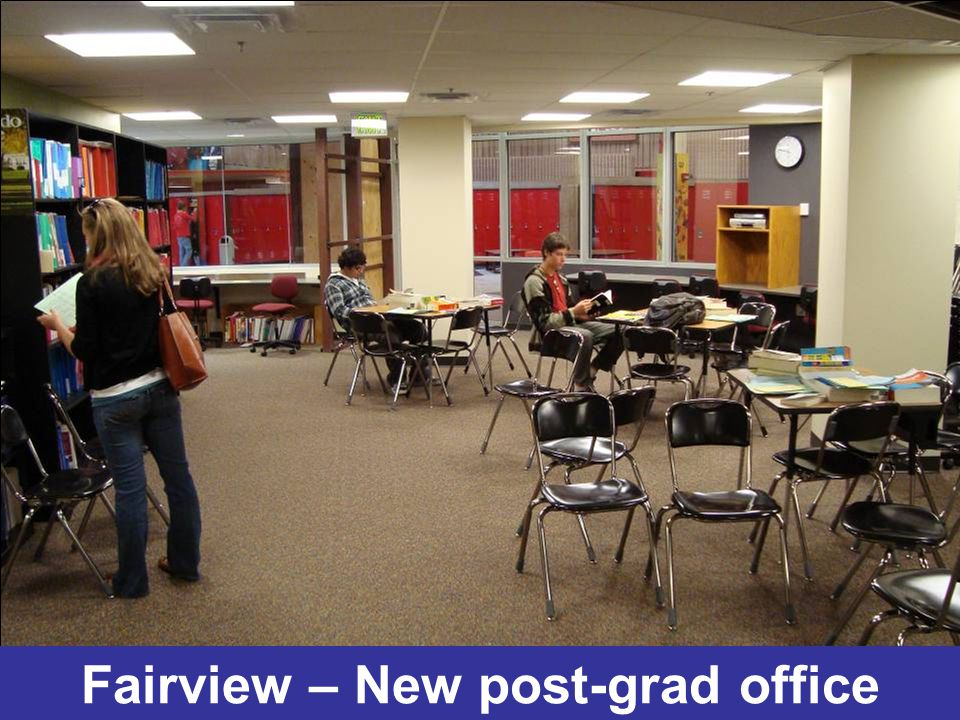 Fairview – New post-grad office