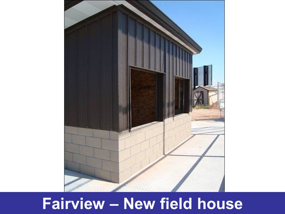 Fairview – New field house