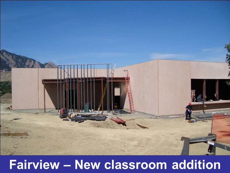 Fairview – New classroom addition