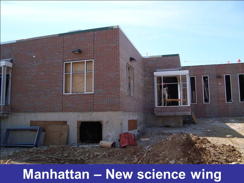 Manhattan – New science wing