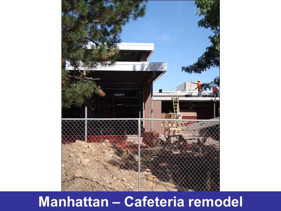 Manhattan – Cafeteria remodel