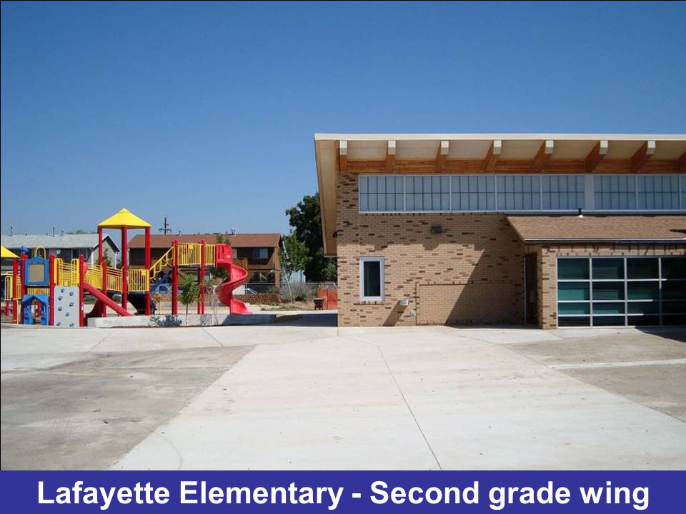 Lafayette Elementary - New classroom