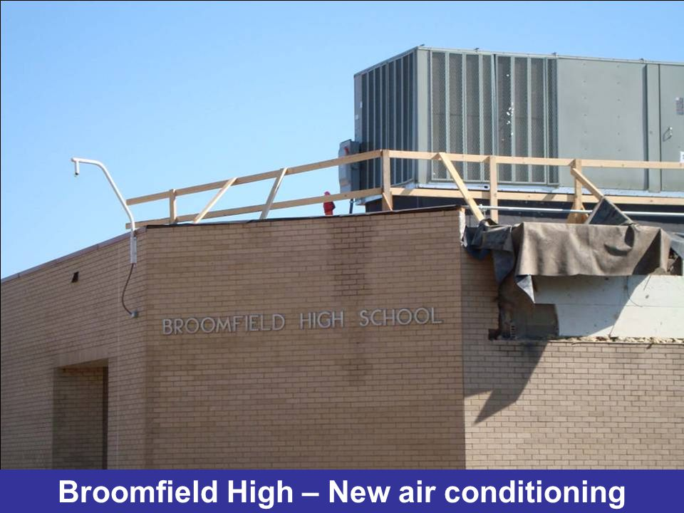 Broomfield High – New air conditioning