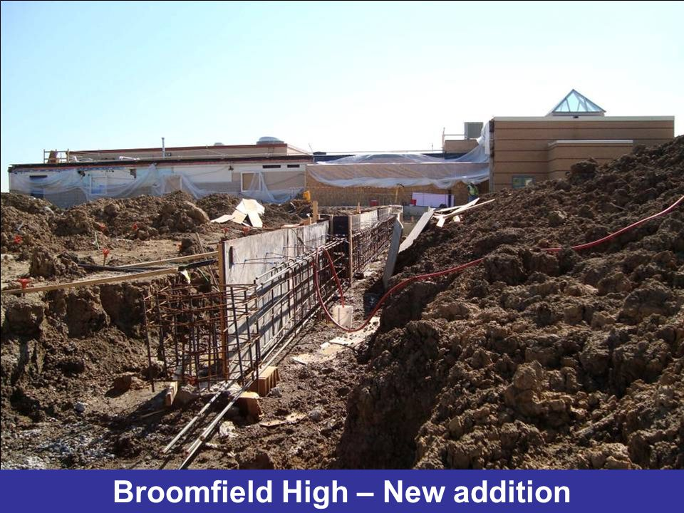 Broomfield High – New addition